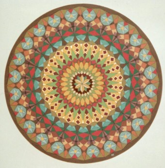 296 - Caleidoscope-series  X - Arabic 55 [60x60]